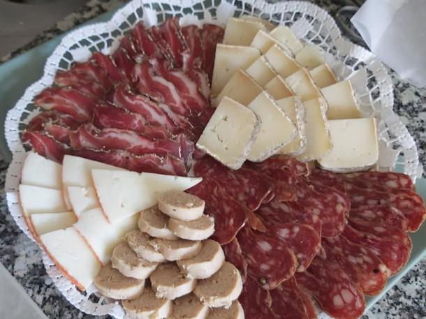 Safates d'embotits i formatges